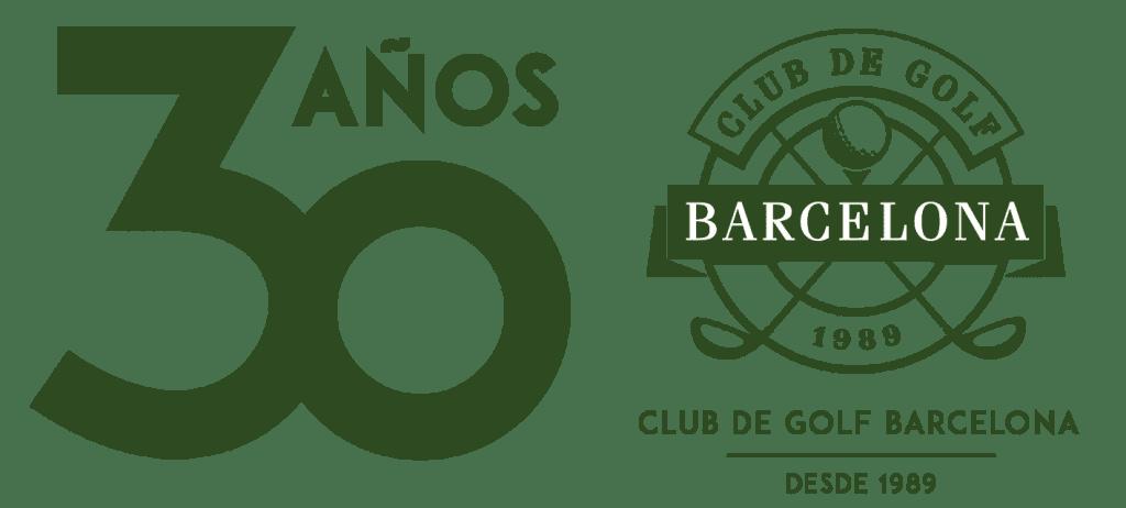 logo 30 años Golf Barcelona